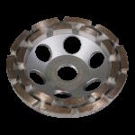 Diamant-Schleiftopf 2-reihig - 125mm Durchmesser