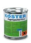 KÖSTER Fugenspachtel FS-V schwarz - 4kg