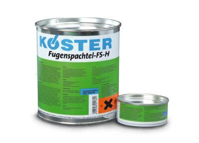 KÖSTER Fugenspachtel FS-H schwarz - 4kg