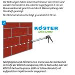 KÖSTER Crisin Creme - 310ml Kartusche für Handpresse