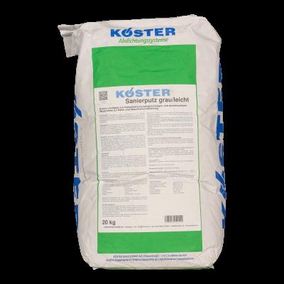 KÖSTER Sanierputz grau/leicht - 20kg