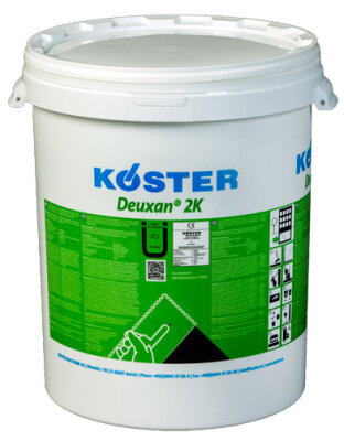 KÖSTER Deuxan 2K-Spachteldicht - A24kg B8kg