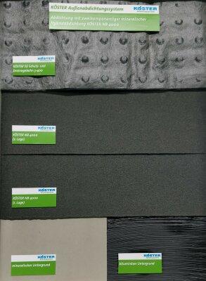 Set Bitumenfreie mineralische Außenabdichtung (Hybrid-Abdichtung)