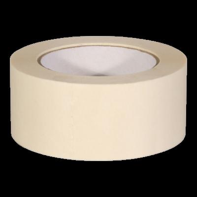 Feinkreppband beige 80°C 50mm x 50m