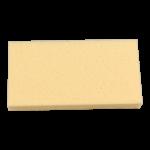 Reibebrett/ Fliesen-Waschbrett 150 x 290mm 40mm-Auflage gelb