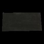 Reibebrett PU 140 x 280mm 10mm Zellkautschukauflage schwarz