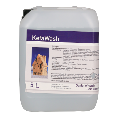 KefaWash KefaClean - 5l (für ca 25qm)